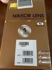 NIKON 2184 AF-S NIKKOR 24 mm f/1.4G ED Wide-angle Prime Lens