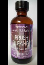 Mia Secret Brush Cleaner  2 oz / 59ml Made in USA! Nail Brush Cleaner