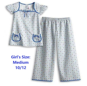 NEW American Girl Dress Like Doll MOLLY'S FLORAL PAJAMAS Girls 8/10 MED Top Pant