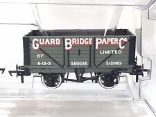 Bachmann Pt 37-075K4 #67- 7 Plank Fixed End Wagon 'Guard Bridge Paper Co' - NEW