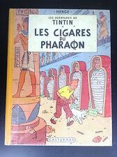 Album Hergé Tintin Les cigares du Pharaon B14 1955 EO Française BON ETAT PLUS