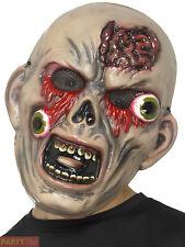 Kids Zombie Bulging Eye Horror Mask Boys Gruesome Halloween Fancy Dress Costume