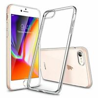 For iPhone 7 Case Shock Proof Crystal Clear Soft Silicone Gel Bumper Cover Slim