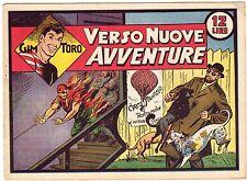 fumetto GIM TORO SERIE ROSA ORIGINALE ANNO 1948 N. 21