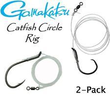 Gamakatsu Circle Hook Catfish Rig (2-Pack) (Select Hook Size)