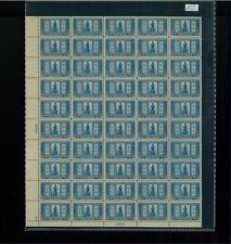 1925 United States Postage Stamp #619 Plate No. 16806  Mint Full Sheet