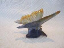 Vintage Daum France Crystal Art Glass Butterfly Figurine