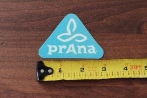 PRANA Yoga Clothing STICKER Decal NEW Teal