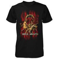 Slayer Hell Awaits Shirt S M L XL XXL Official T-Shirt Thrash Metal Band Tshirt