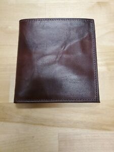 Vintage  Rolfs Sugarbush Red Leather Wallet with Box
