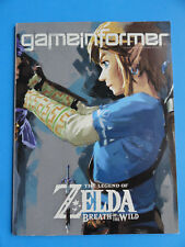 GAME INFORMER MAGAZINE MARCH 2017 - THE LEGEND OF ZELDA BREATH OF THE WILD