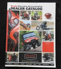 1997-2010 HONDA DEALER MOTORCYCLE ACCESSORIES CATALOG GOLD WING VTX1800 SHADOW