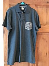 Mens / Boys Hollister Dark Blue Polo Top / Shirt - Size Small