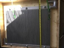 New Aluminum Hydraulic Oil Cooler for John Deere 490E Excavator ,FREE SHIP,NEW