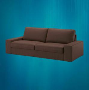 *New* Kivik 3 Seater sofa COVER Only Dark Brown   403.429.64 *Brand IKEA*