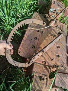 Farmall IH Cub tractor ORIGINAL IH plow cultivator implm hand lift lever bracket