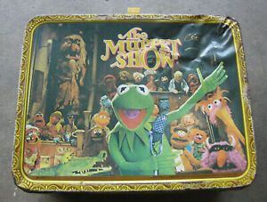 Muppets Lunchbox 1978  w/o thermos Free Shipping