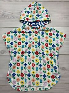 Baby Boden Girls Cover Up poncho Hooded Towel 6-12 Months