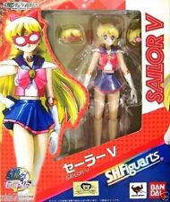 "In STOCK S.H. Figuarts ""Sailor V"" (Moon) 20th Anniversary Bandai Action Figure"