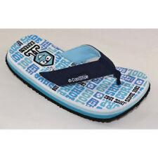 Chaussures bleus larges à enfiler pour garçon de 2 à 16 ans