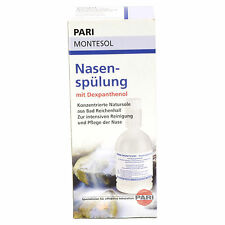 PARI MONTESOL Nasal Rinse Natural Saline Solution 250ml