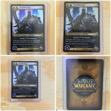 THE LICH KING Foil Archives Epic World of Warcraft Trading Card TCG WOW CCG Rare