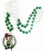 Boston Celtics Perlenkette mit Wappen ,NBA Basketball,Beads Medallion,NEU