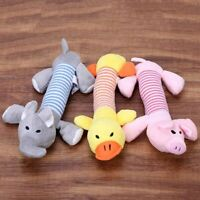 Funny Soft Pet Puppy Chew Play Squeaker Squeaky Cute Plush Sound For Dog Toy  AU