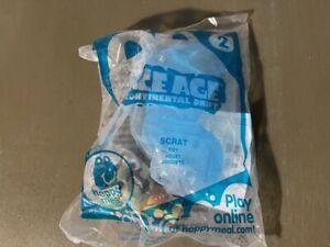 McDonald's HAPPY MEAL Toy SCRAT Ice Age NIP