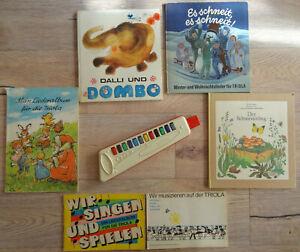 DDR Spielzeuginstrument Triola VEB Vermona + Zugabe ca. 150 Liedervorlagen digit