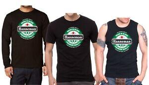 JEFF HANNEMAN Herren T-shirt Men Langarm Rock Band Tee Shirt Tank Top