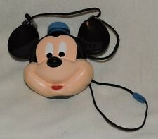 Vintage Mickey Mouse Canteen with Lanyard