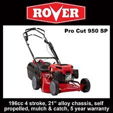 """Rover Pro Cut 950 self propelled mower, 196cc, 21"""" mulch & catch - Save $100"""
