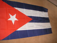CUBA CUBAN FLAG FLAGS 5'X3' BRAND NEW  POLYESTER