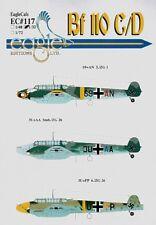 Eagle Cal 1/48 Messerschmitt Bf 110C/D PT 1 # 48117