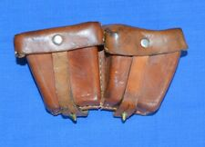 WW2 Leather POUCH for MOSIN NAGANT Ammo Belt CASE #16
