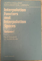 """""""interpolation functions and interpolation spaces"""" brudnyi 1991 HC 1st Edition"""