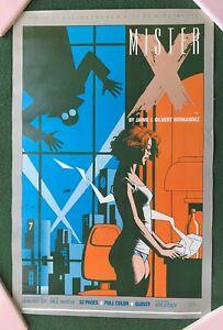MISTER X by Jamie & Gilbert Hernadez  Dean Motter Comic Shop Promo poster RARE