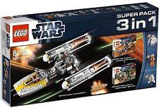 NEUF & RARE - Ywing Starfighter Superpack 3en1 - LEGO StarWars 66411