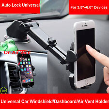 360° Universal Car Windshield Air Vent Cell Phone GPS Mount Holder Stand Cradle