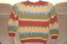 Pullover, Marke JUMP, in den Farben beige,grün, rost GrößeS,
