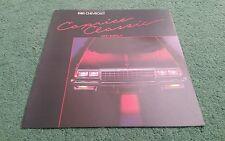 1985 CHEVROLET CAPRICE CLASSIC & IMPALA CANADIAN 9/84 LARGE FOLDER BROCHURE