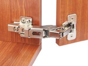 Soft Close 155 Degree Hafele 35mm Kitchen Cabinet Wardrobe Standard Door Hinges