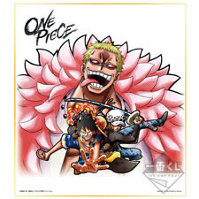 ONE PIECE - Luffy & Doflamingo & Trafalgar Law Shikishi Ichiban Kuji Banpresto