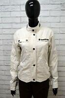 Giubbino TUCANO URBANO Donna Taglia Size L Giacca Giubbotto Jacket Woman Bianco