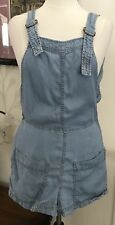 Life In Progress Pull-On Romper- Low Back Overall Style Front Size M Juniors
