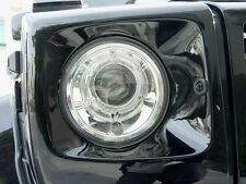 DEPO Chrome Projector Headlight Pair For 02-06 Mercedes Benz W463 G Class Wagon