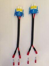 H11 H9 H8 CERAMIC HEAT RESISTANT Bulb Socket Connector  X 2 FOG/SPOT LIGHT ,