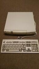 Mitsubishi Apricot XEN-PCm Vintage Computer & Keyboard Rare 1994