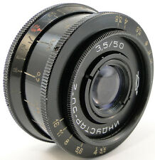CLA'd 1970! =First Release= KMZ INDUSTAR 50-2 3.5/50 USSR Lens Screw Mount M42